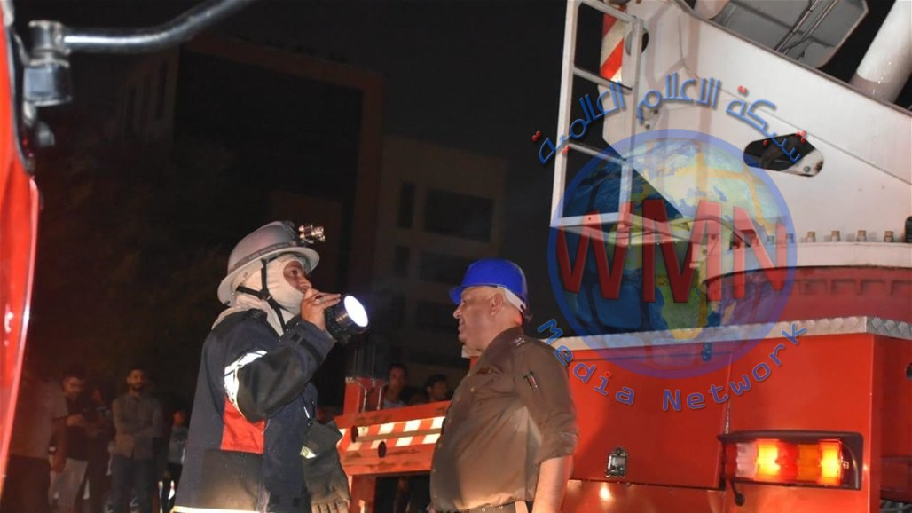 مدير عام الدفاع المدني يعلن السيطرة على حريق مؤسسة الشهداء