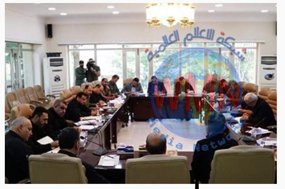 هيئة الحشد الشعبي تعقد اجتماعا موسعا لاستعراض خطة الزيارة الأربعينية