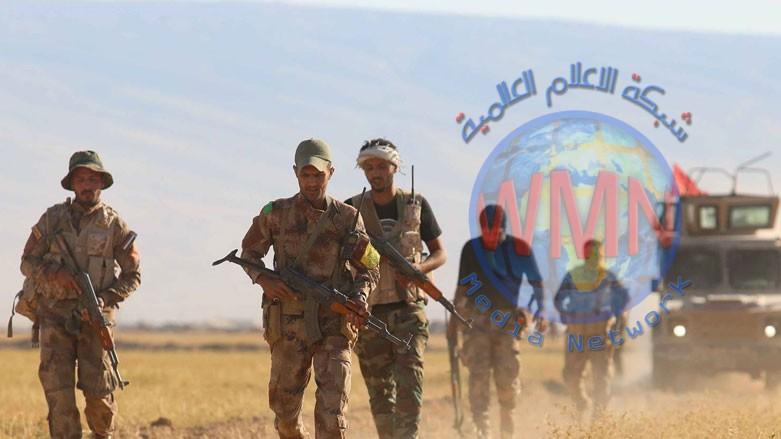 الحشدالشعبي والقوات الامنية يؤمنان طريقا مهما في جزيرة صلاح الدين