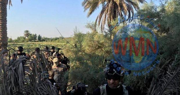 الفوج النهري للواء السابع يشارك بتفتيش ضفاف نهر الفرات لتأمين زيارة عاشوراء