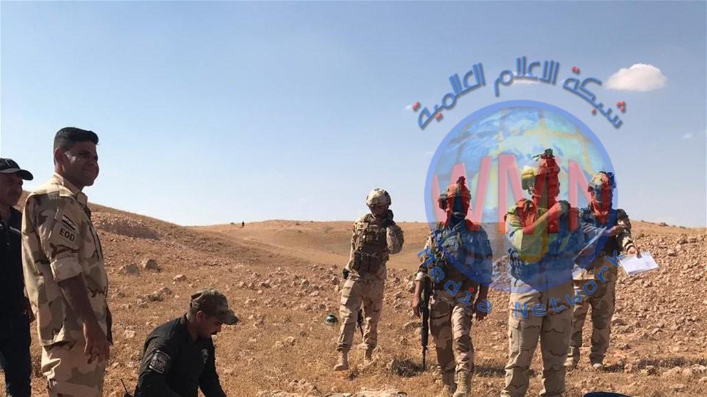 ابو رغيف يكشف عن السيطرة على 570 حزاما ناسفا و25 عبوة في الانبار