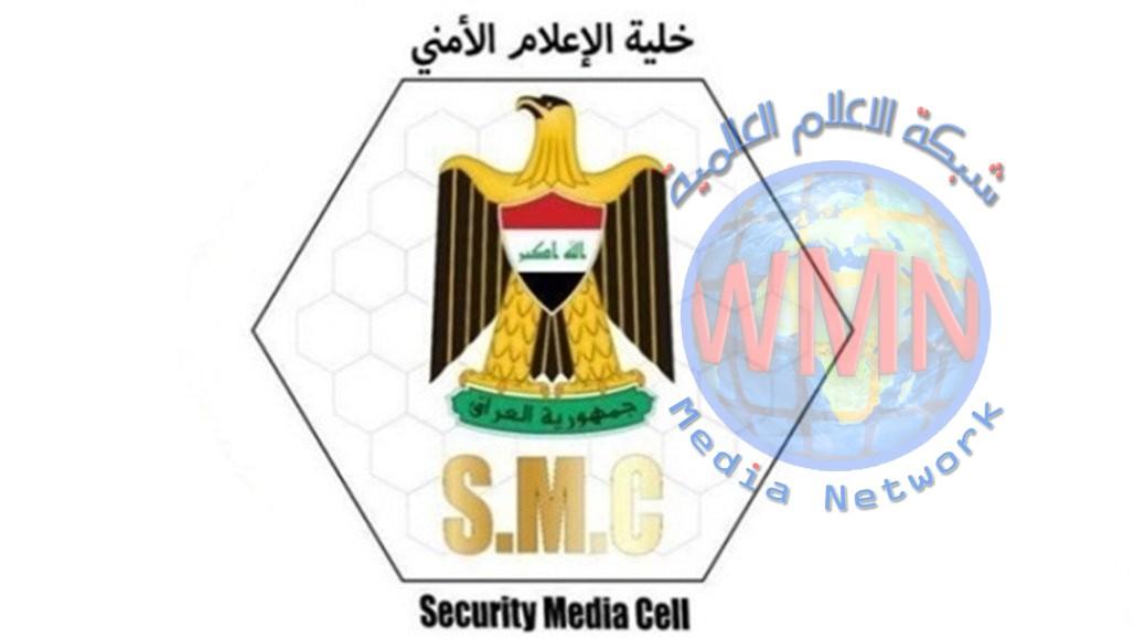 الإعلام الأمني تعلن ضبط 7 اوكار وكهف و360 عبوة في الانبار