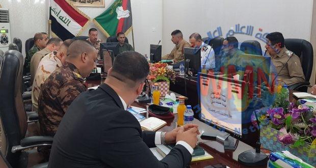 الحشد الشعبي والقوات الأمنية يجتمعان لتنسيق المواقف بشأن الملف الأمني في ديالى