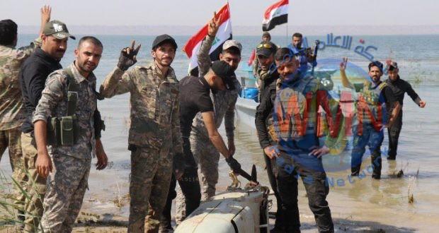 قيادة عمليات ديالى للحشد تعثر على مضافة بعملية دهم وتفتيش في بحيرة حمرين في المحافظة
