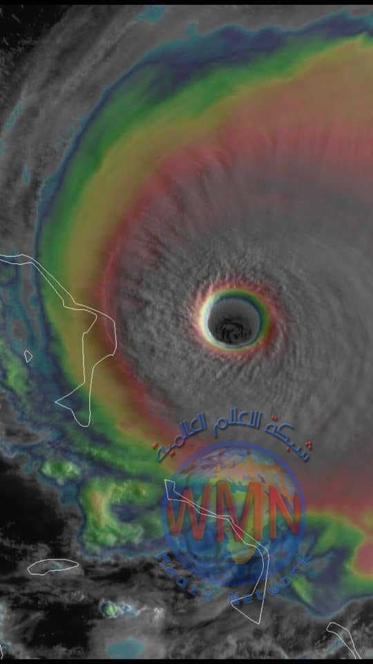 اعصار دوريان يصل الى المرحلة التدميرية ويهدد شرق فلوريدا