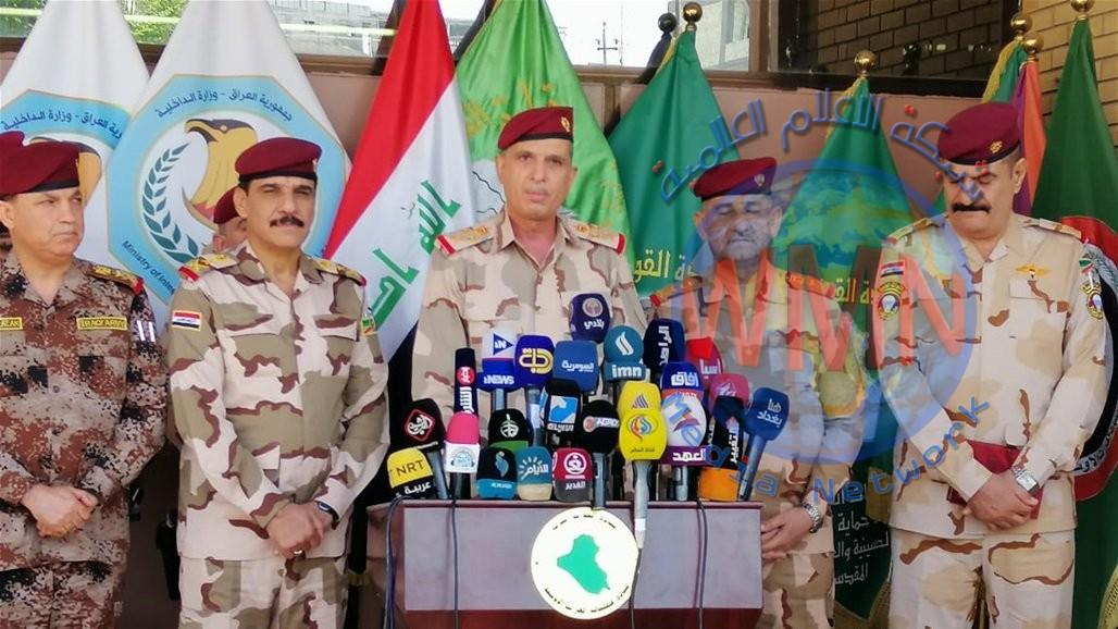 الغانمي من كربلاء: لا توجد أية مشاكل بين قادة الجيش
