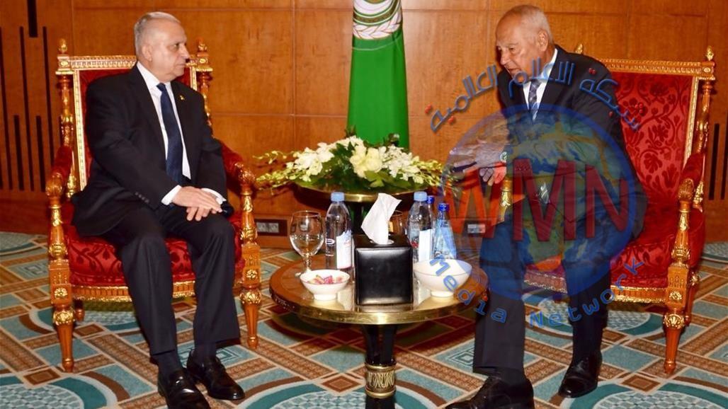 العراق يدعو الجامعة العربية لحث الدول على الإيفاء بتعهّداتها في مؤتمر الكويت