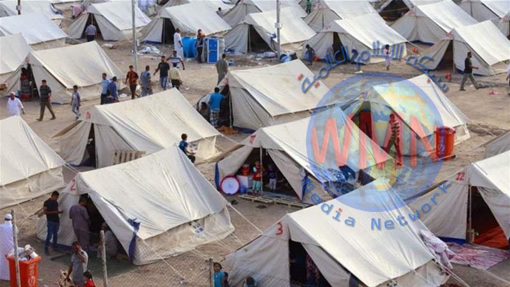 الهجرة تغلق مخيما للنازحين جنوبي الموصل