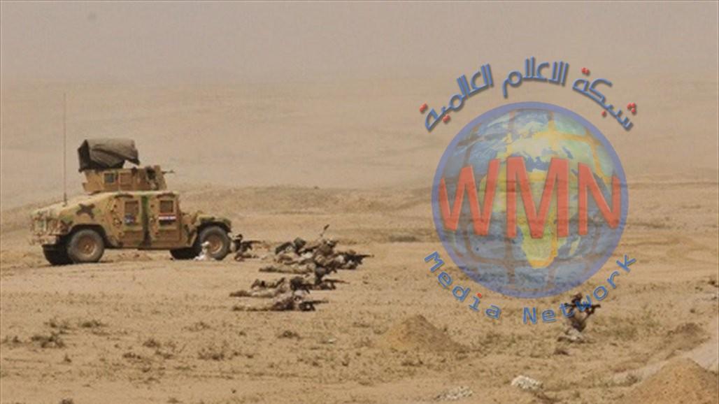 عمليات الانبار تنصب ثكنات عسكرية ثابتة ومتحركة في المناطق الصحراوية
