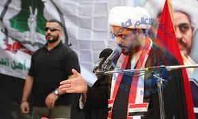 الشيخ قيس الخزعلي: استهداف مقام المرجعية من قبل قناة الحرة يمثل مرحلة خطيرة في المشروع الأمريكي المعادي