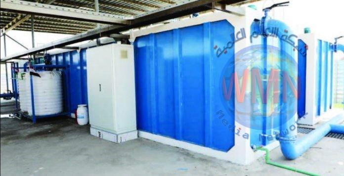 افتتاح ثلاثة مجمعات للماء في اليوسفية بطاقة 600 متر مكعب بالساعة