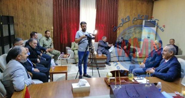 اللواء 26 بالحشد يبحث مع إدارة محافظة الأنبار التنسيق والتعاون المشترك في المجالات المتعددة
