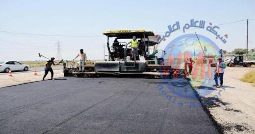 بكلفة ملياري دينار..المباشرة بصيانة طريق كوت- بغداد