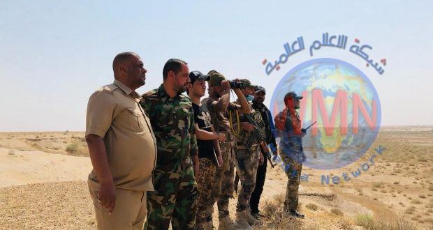 الحشد الشعبي والقوات الأمنية يطهران شمال شرق بحيرة الرزازة ضمن عمليات إرادة النصر الخامسة