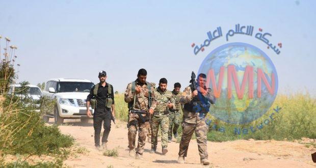 اللواء 23 بالحشد الشعبي ينطلق بعملية دهم وتفتيش في أطراف نهر الوند بمحافظة ديالى