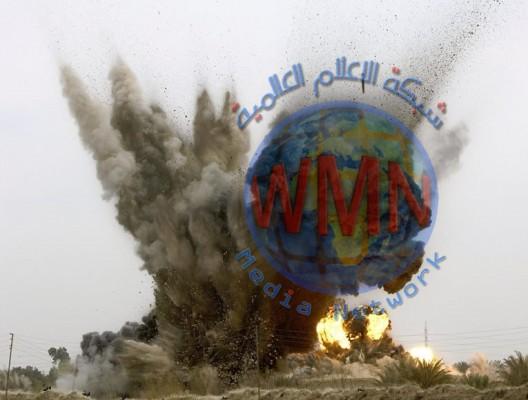 تفجير في معسكر {حماد شهاب} شرقي بغداد