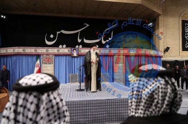 السيد الخامنئي: شكرنا العميق للعراق لتوفيره الأمن والخدمات في زيارة الاربعين