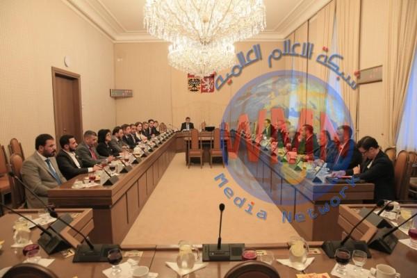 حسن الكعبي لنظيره التشيكي: العراق يملك فرصا استثمارية غير مسبوقة