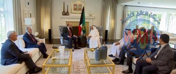 رئيس الجمهورية يلتقي أمير الكويت