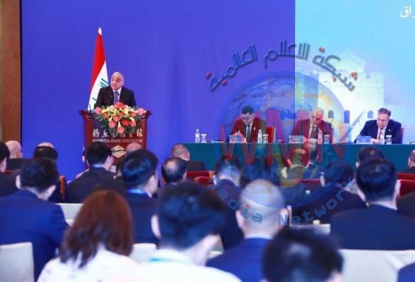 العراق والصين يوقعان اليوم 8 اتفاقيات ومذكرات تفاهم