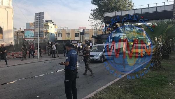 جرحى في هجوم استهدف حافلة للشرطة جنوبي تركيا