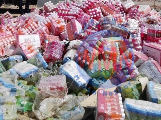 صحة ديالى : اتلاف 9 اطنان من المواد غير الصالحة خلال شهر اب