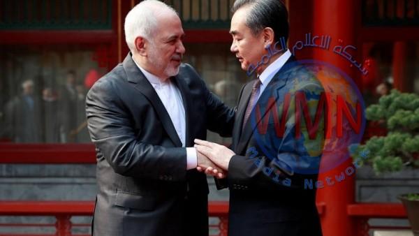ظريف ينفي توقيع إيران أي اتفاق استراتيجي مع الصين