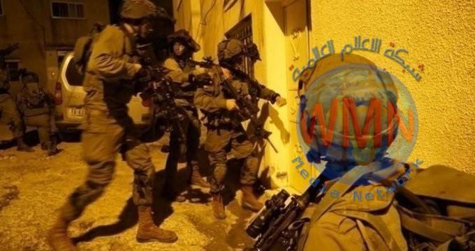 قوات الاحتلال تعتقل 19 فلسطينيا من الضفة