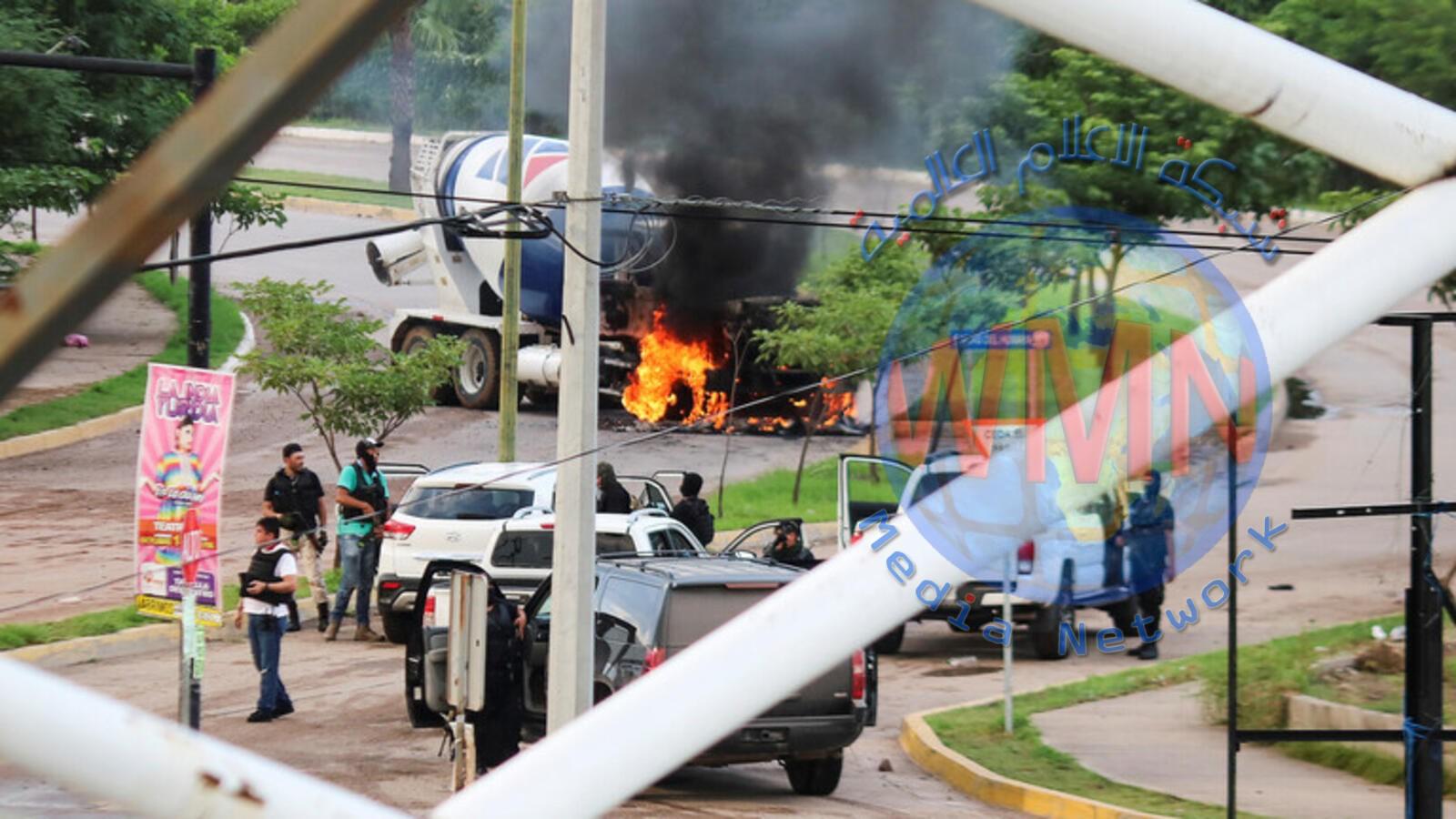 """""""حرب شوارع"""" بالمكسيك بعد اعتقال نجل """"إلـ تشابو"""""""
