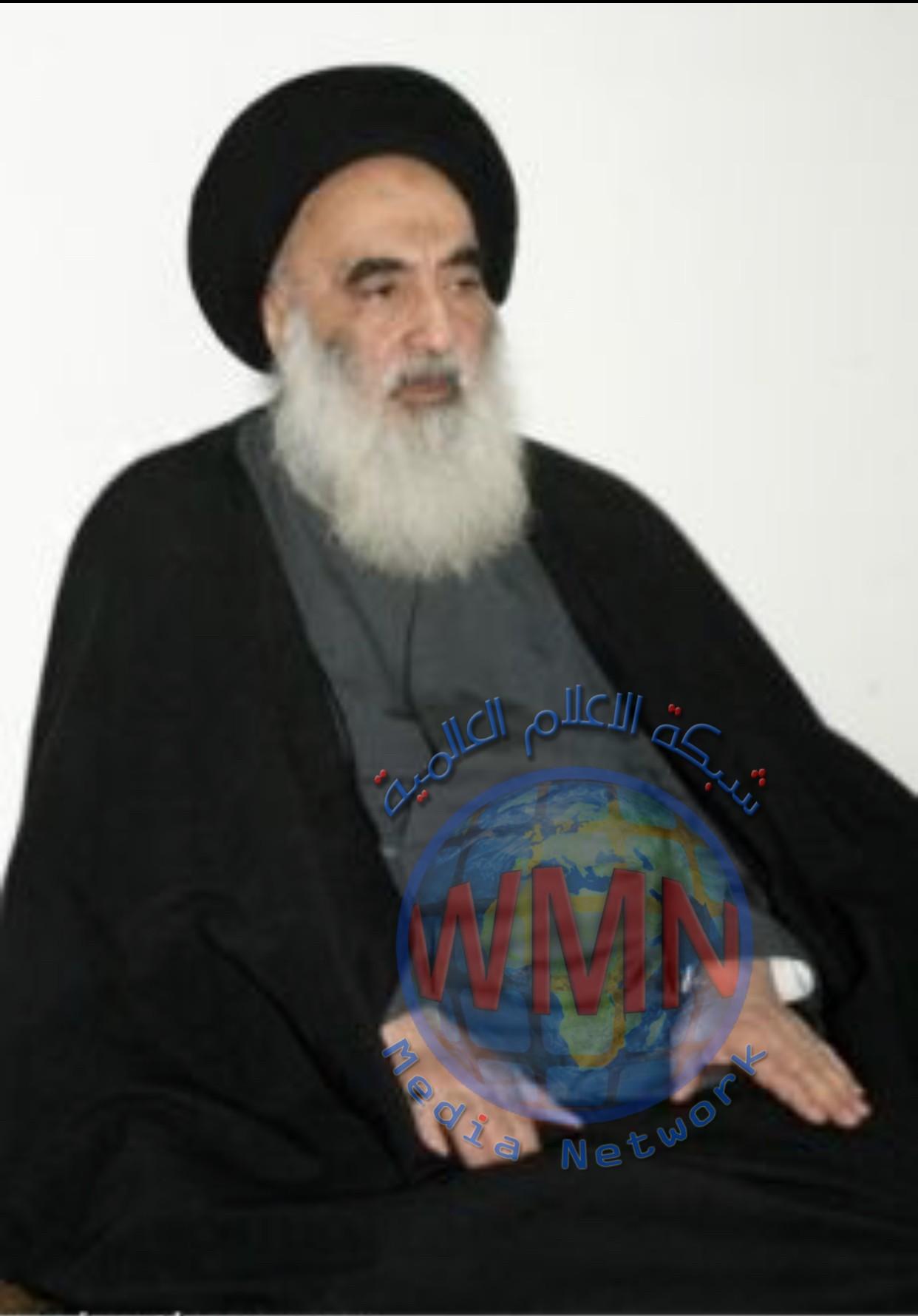 نص بيان المرجع الديني الاعلى السيد علي السيستاني حول التظاهرات
