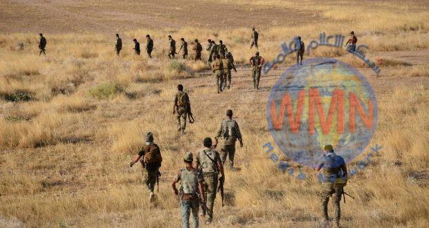 الحشد الشعبي ينفذ عملية أمنية لملاحقة فلول داعش شمال شرق ديالى