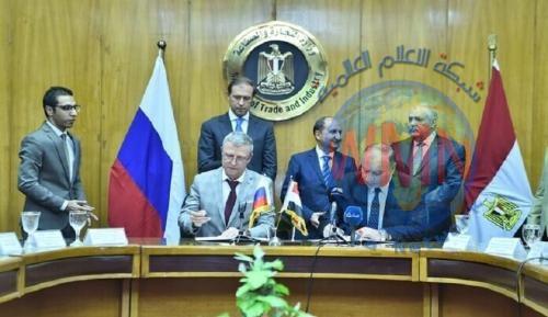 تعاون روسي مصري في مجال الصناعة