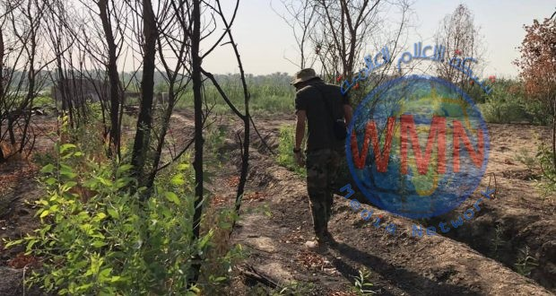 مكافحة المتفجرات للحشد تؤمن طرق الزائرين الوافدين من العبوات الناسفة شمال شرق ديالى