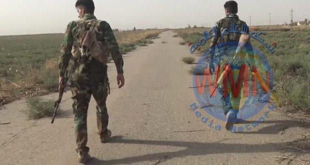 اللواء 16 بالحشد يفكك 10 عبوات ناسفة زرعتها عناصر داعش لاستهداف الفلاحين في قصبة البشير بكركوك
