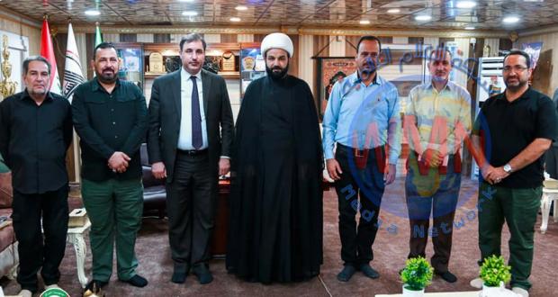 مؤسسة الشهداء تشيد بدور اللواء الثاني بالحشد لدعمه المتواصل لعوائل الشهداء