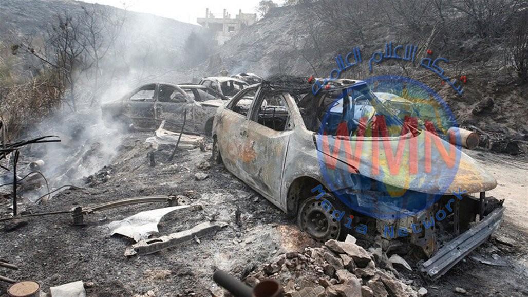 أمطار غزيرة تساهم بوقف تمدد الحرائق في جبل لبنان