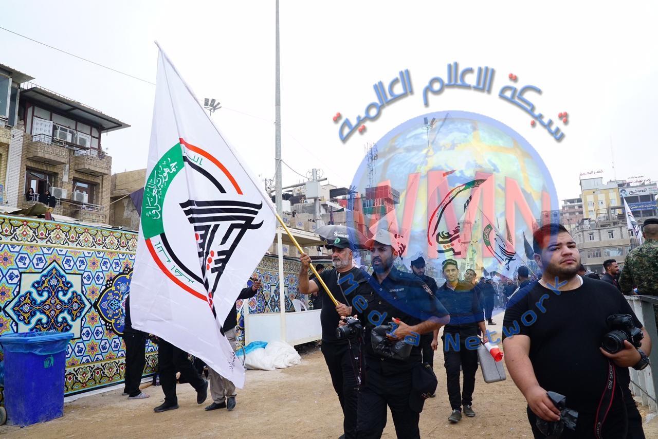 كراديس الحشد الشعبي تدخل حضرة ابي عبد الله الحسين