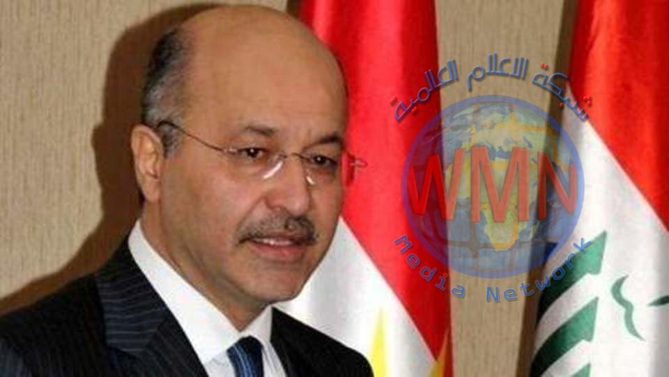 رئيس الجمهورية برهم صالح:عادل عبد المهدي ابدى موافقته على تقديم اسقالته