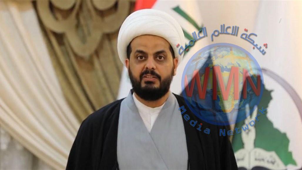 الشيخ قيس الخزعلي يعلق على التظاهرات التي شهدتها عدد من المحافظات
