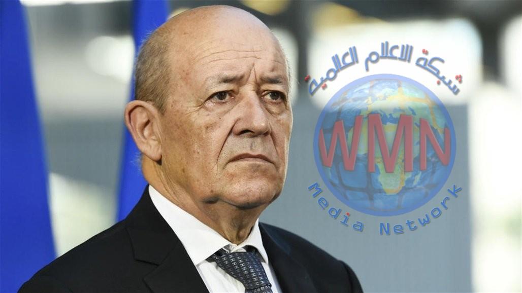 وزير الخارجية الفرنسي يصل الى بغداد