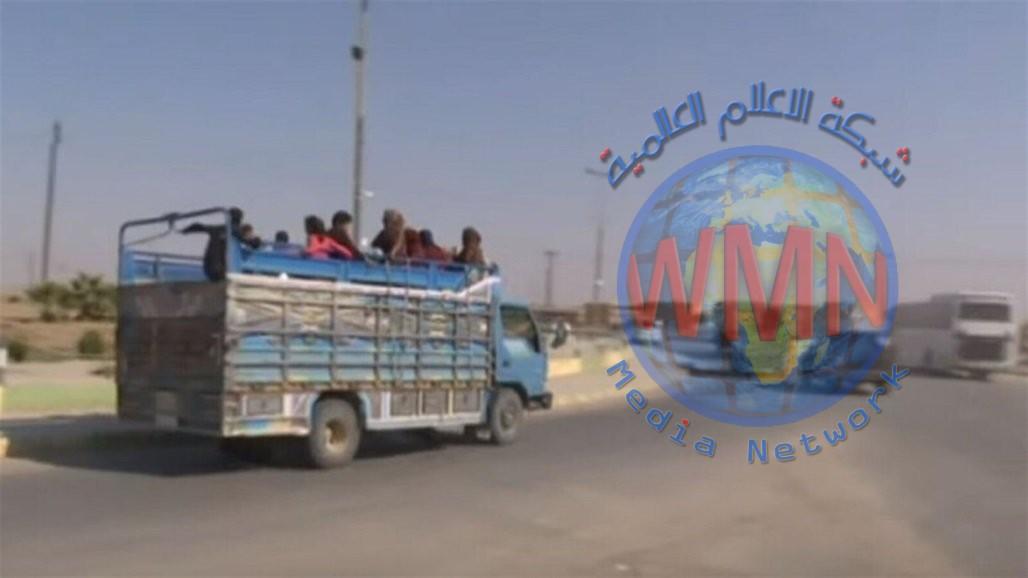 الأمم المتحدة: نزوح مئات المدنيين إلى العراق