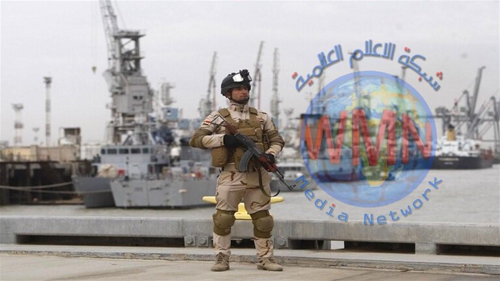 تقليص العمليات بميناء أم قصر بعد إغلاق محتجين مدخله