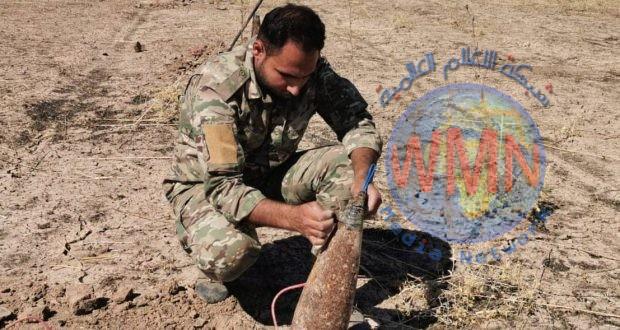 مكافحة المتفجرات بالحشد تطهر 10 قرى وطريقا في ديالى ضمن الخطة الأمنية لزيارة الاربعين العالمية