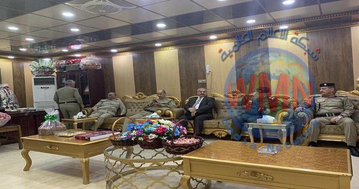 رئيس هيئة المنافذ والجانب الايراني يبحثان اعادة افتتاح منفذ مندلي الحدودي