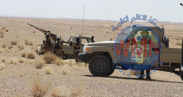 الحشد الشعبي ينقذ سرية من شرطة الطاقة بعد تعرضها لهجوم عنيف من داعش في حقول علاس