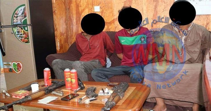 شرطة البصرة تعتقل 3 مطلوبين بقضاياً جنائية