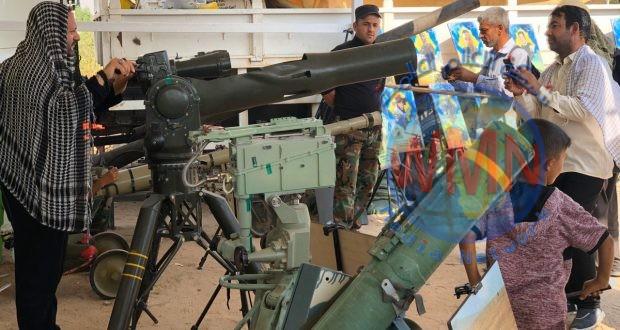 مديرية مقاتلة الدروع تفتتح معرضها التعبوي على طريق النجف – كربلاء