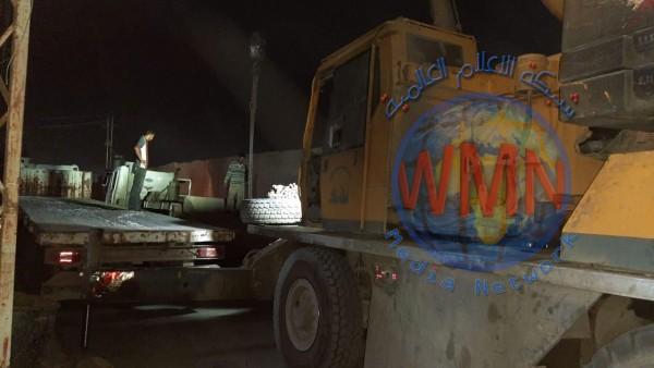 رفع الكتل الكونكريتية عن زقاقين مغلقين منذ 2006 في بغداد