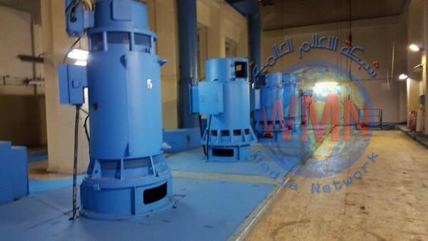 انشاء محطة مجاري عملاقة مع خط خاص بها شرق بغداد