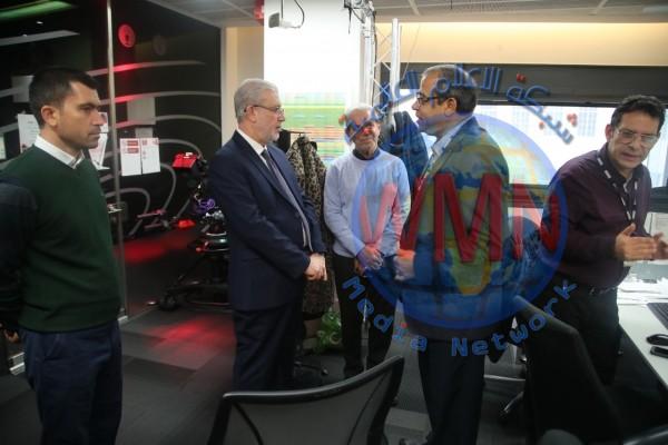 وفد نيابي عراقي يزور مؤسسة BBC ويطلع على حرفية الاعلام